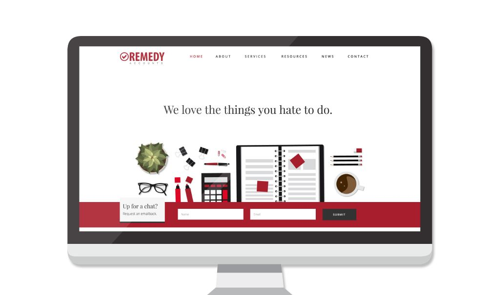 New Remedy Accounts Website